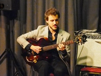 Gilad Hekselman Trio, Dempsey's, Cardiff, 01/04/2015.