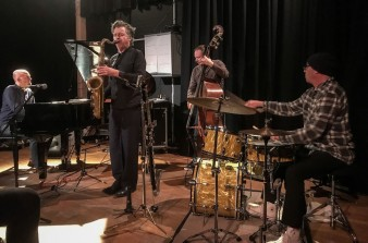 Julian Siegel Quartet, The Hive Music & Media Centre, Shrewsbury, 14/04/2018.