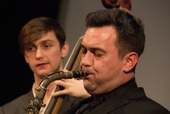 Brandon Allen Quartet plays Gene Ammons, The Hive Music & Media Centre, Shrewsbury, 13/05/2017.