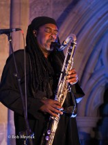 Courtney Pine Presents 'Song (The Ballad Book)' Featuring Zoe Rahman, Brecon Jazz Festival, 08/08/15