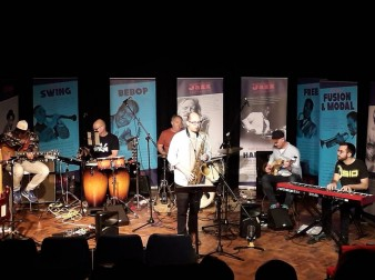 Bunker, Black Mountain Jazz, Melville Centre, Abergavenny, 30/06/2019.