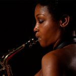 Camilla George Quartet, Kenilworth Jazz Club, Kenilworth Rugby Club, Kenilworth, Warwicks. 27/02/17.