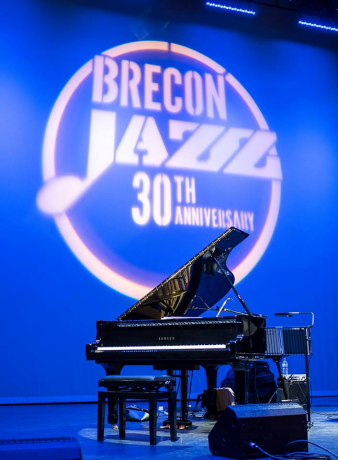 Sunday at Brecon Jazz, 10/08/2014.