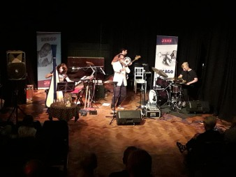 Saturday at  Wall2Wall Jazz Festival 2019, Melville Centre, Abergavenny, 31/08/2019.