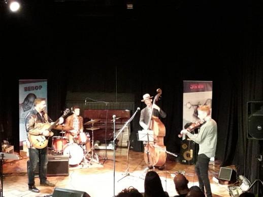 Sunday at Wall2Wall Jazz Festival, Abergavenny, September