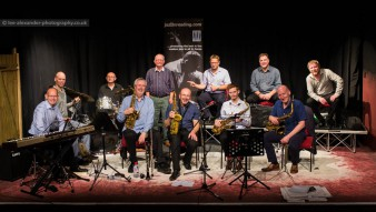 'Jazz on a Winter's Day' -  Scott Willcox Big Band recording session, 18/02/2017.