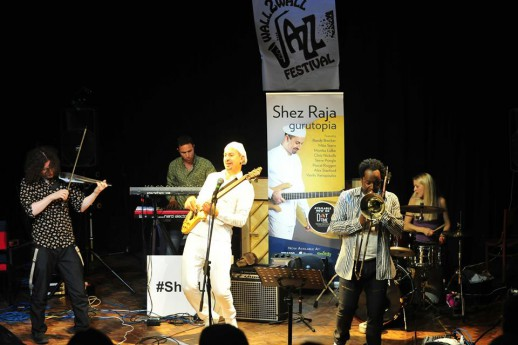 Saturday at Wall2Wall Jazz Festival, Abergavenny, 02/09/2017.