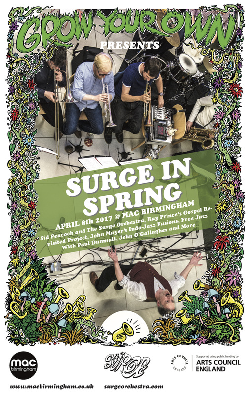 Surge In Spring Festival, Midlands Arts Centre (mac), Birmingham, 08/04/2017.